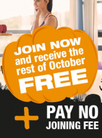 A Spookily good offer from Balance Health Club.
