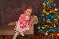 Christmas Grotto Portrait Shoot.