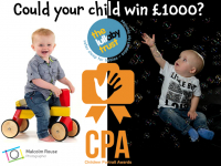 WIN £1000 & a FREE child portrait session!