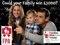 WIN £1000 & a FREE family portrait session!