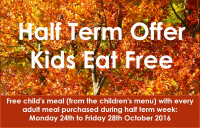Kids eat free at The Barley Mow