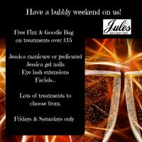 FREE Fizz and Goody Bags