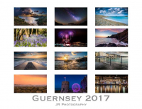 OVER 50% OFF 2017 GUERNSEY CALENDAR FOR JUST £6 FROM JR PHOTOGRAPHY