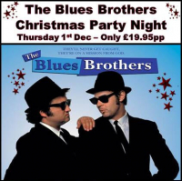 The Blues Brothers Christmas Party Night just £19.95pp