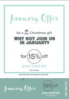 January Offer at Pom's
