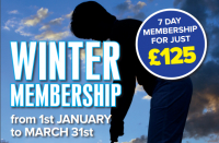 Winter Membership Offer at Calderfields Golf and Country Club!
