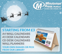 Minuteman Press Watford Christmas Stationery
