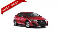 Honda Civic Diesel Hatchback 1.6 i-DTEC Sport 5dr from just £125.77 rental per month