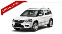 Skoda Yeti Outdoor Estate 1.4 TSI Laurin + Klement 4x4 5dr from just £139.71 +VAT rental per month