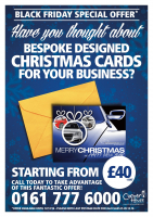 Black Friday - Bespoke Christmas Cards