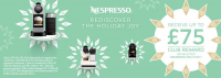 Nespresso Promotion at The Kitchen Shop