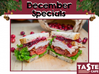 Get your Traditional Christmas Sandwich, Baguette or panini!!