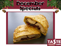 Get your Turkey and Cranberry Pasty!!