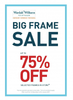 Wardale Williams BIG FRAME sale