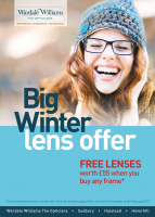 BIG Winter Lense Offer at Wardale Williams