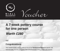 7-WEEK POTTERY COURSE VOUCHER