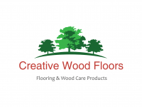 Creative wood floors logo