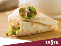 Feeling Peckish?? Why not sink your teeth into Taste's Chicken Caesar Baguettes, Sandwiches, Baps or Wraps today!...