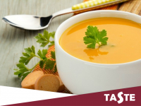 Fancy something hot for lunch? Why not try Taste's Soup of the day?? Only £2.95!