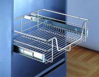 FREE chrome pull-out storage basket