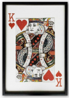 Big Playing Card - 14, north, street, homeware, and, art, shop, brighton, playing, cards, king