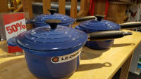 Blue Le Creuset The Kitchen Shop