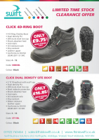 Stock Clearance Offer on Workboots