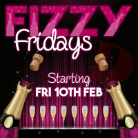 FREE BOTTLE OF PROSECCO ON FIZZY FRIDAYS AT THE DOGHOUSE