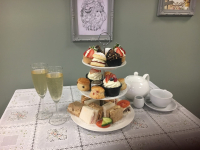 AFTERNOON TEA WITH FIZZ FOR 2 - JUST £29!