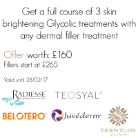 glycolic, dermal, filler, offer, feb, skin, to, love, clinic, st, albans