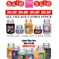 20% Off Village Candles at Fizzy Foam