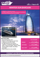 winter sun cruise offer