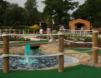 Kids Afternoon Tea & Adventure Golf for £14   ONLY VALID FOR FEB HALF TERM