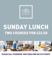 HB's Restaurant - Amex Community Stadium - Sunday Roast Lunch Deal