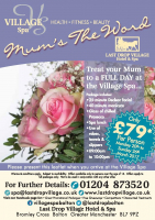 Mother's Day Spa Package only £79 per person at The Last Drop