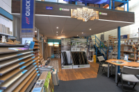 Creative wood floors showroom