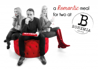 FREE meal at Bohemia in St Neots for every website package purchased throughout February!
