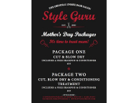 Mothers Day Packages - It's time to treat Mum...