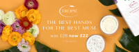 TropicJus Mother's Day Offer 'In the Best Hands Collection' for £22 & Complimentary Luxury Hand Massage