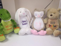 Personalised soft toys £19.99