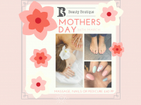 Mothers Day at Beauty Boutique Lichfield