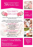 Mothers Day Tea Party Spa Day