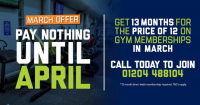 Join Now Pay Nothing Unitl April!