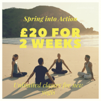 TWO WEEKS' UNLIMITED YOGA JUST £20