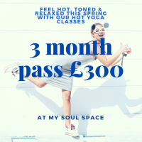 3 MONTH YOGA PASS FOR £300