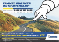 FREE FUEL WITH MICHELIN TYRES FROM TARGET