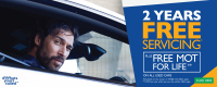 Bristol St Motors, free servicing