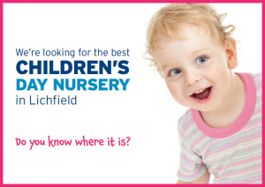 We're looking for Children's Nurseries in Lichfield