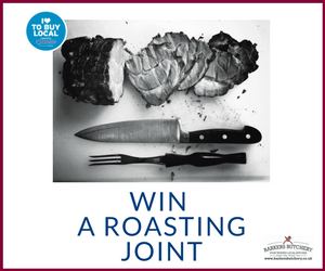 Win a roasting joint from Barkers Butchery