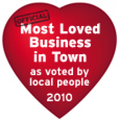 Best loved Business (In Place) 2010